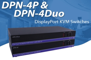 DisplayPort KVM Switches